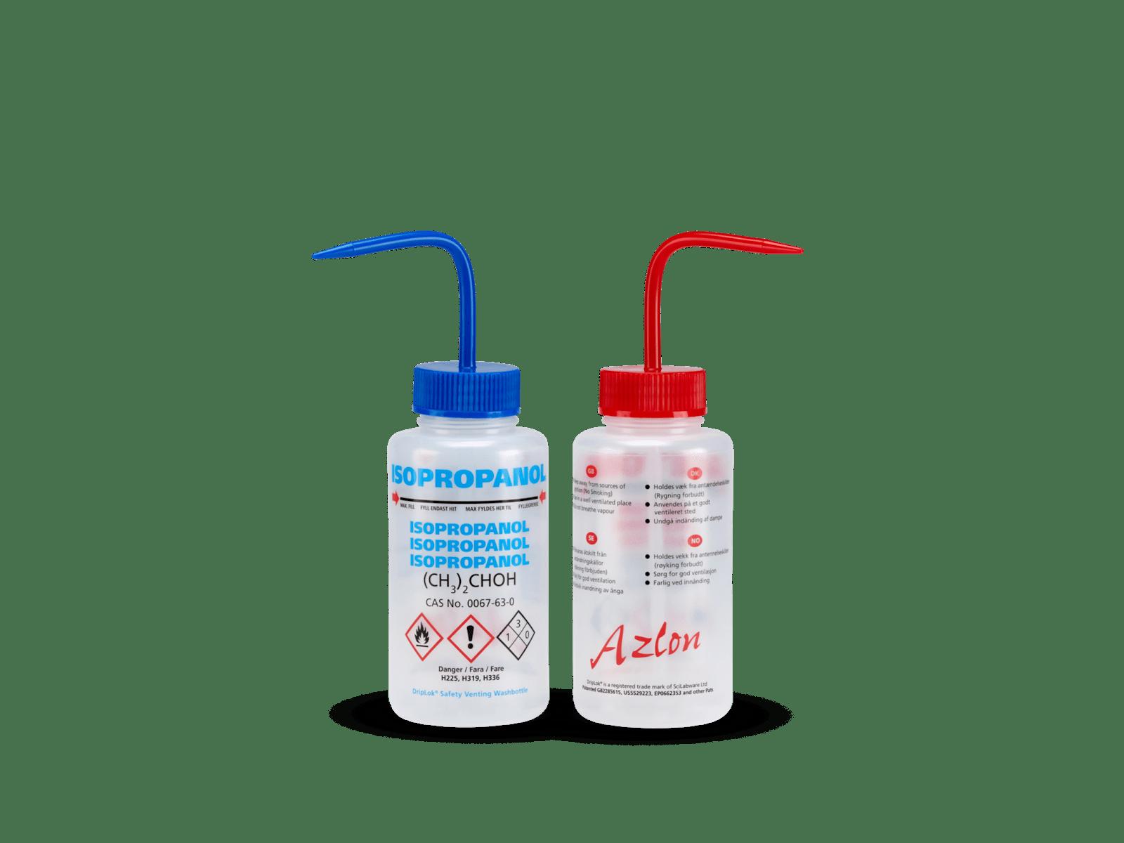 Safety Venting Wash Bottles
