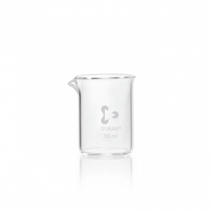 DURAN® Beaker, low form, with spout, 10 mL