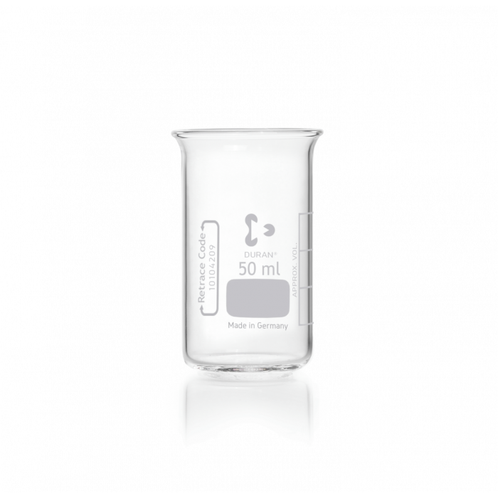 DURAN® Beaker, high form, without spout, 50 mL