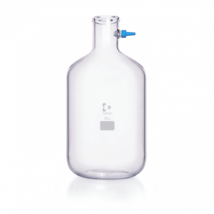 DURAN® Filtering Flask with KECK™ Assembly Set, Bottle shape, 15000 mL
