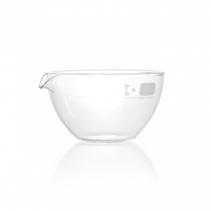 DURAN® Evaporating Dish, with spout, 170 mL