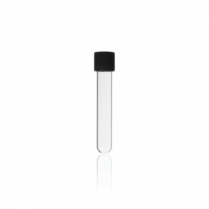 Disposable Culture Tube, with DIN thread and screw cap, GL 18, Ø 16 x 100 mm