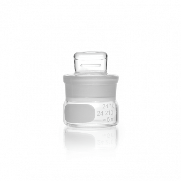 DURAN® Weighing Bottle, with ground lid, low form, 5 mL