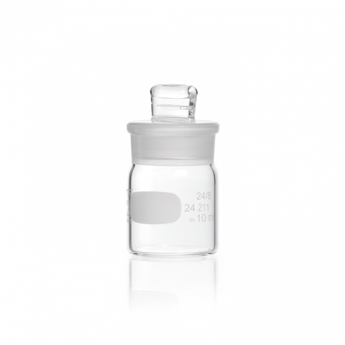 DURAN® Weighing Bottle, with ground lid, high form, 10 mL