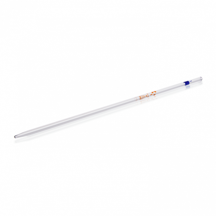 Volumetric Pipette from Soda-lime Glass, Class B, without certification, 1 mL