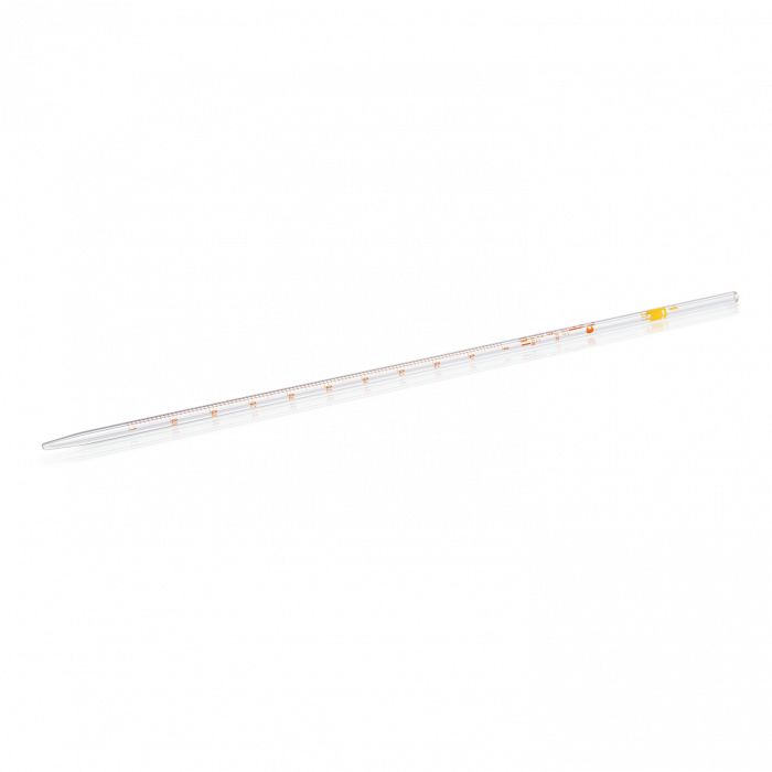 Measuring Pipette from Soda-lime Glass, Class B, Type 1, 1 mL