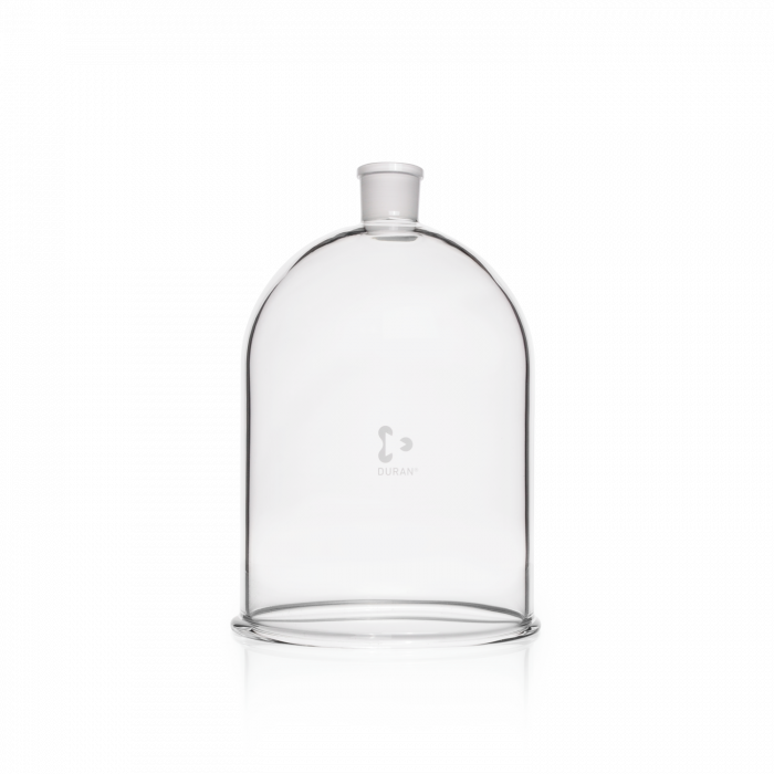 DURAN® Bell Jar, with aperture in neck, NS 34/35, Ø 185 mm