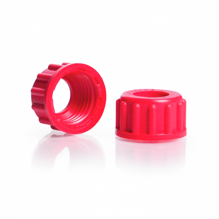 Screw Cap with Aperture, for DURAN® Safety Joints, NS 14
