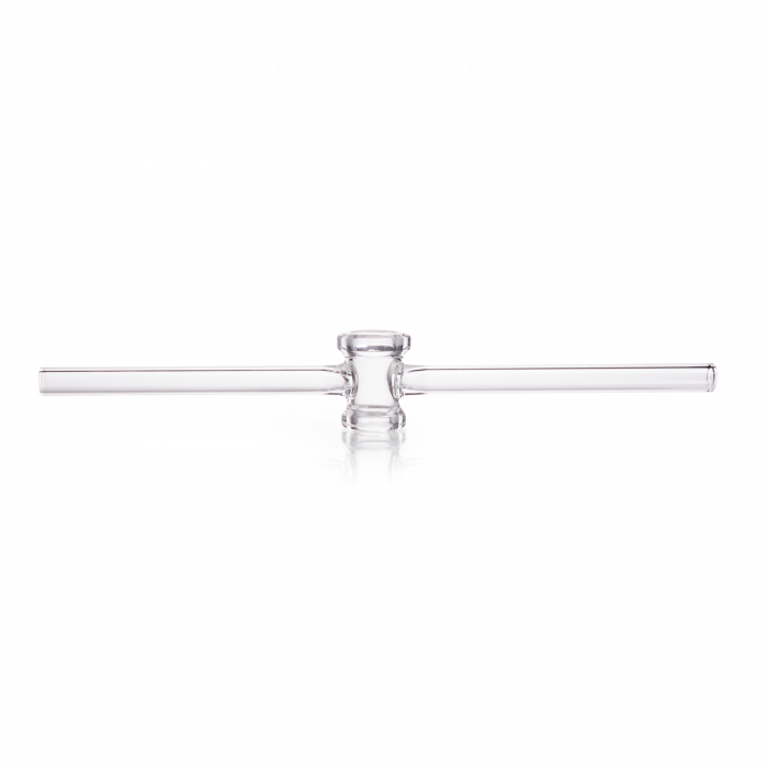 DURAN® Single-way Stopcock, ground and polished, without key, bore 2.5 mm, NS 14.5