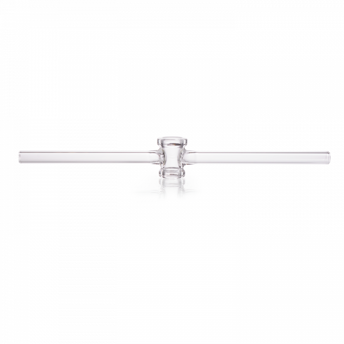 DURAN® Single-way Stopcock, ground and polished, without key, bore 4 mm, NS 14.5