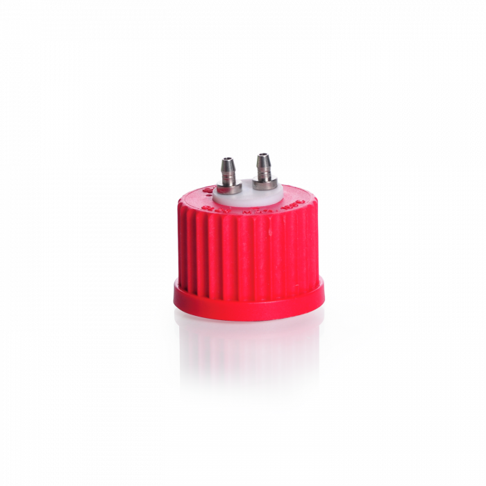 DURAN® GL 25 Multiport Connector Cap, with 2-ports
