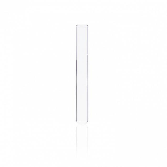 KIMBLE® Reusable Unmarked Culture Tube, 13 x 100 mm, 10 mL