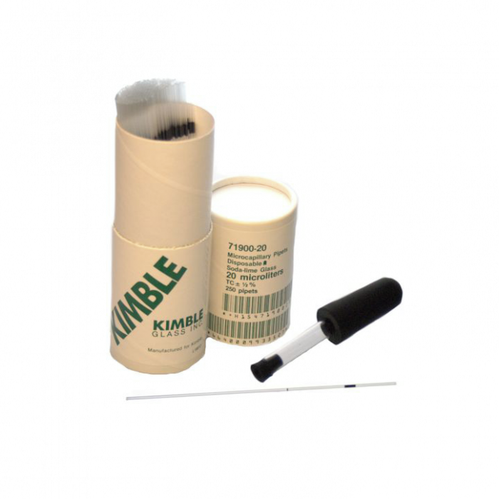 KIMBLE® To Contain Micro Capillary Pipet, 20 µL