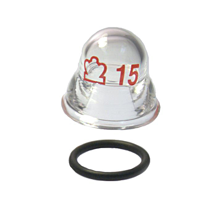 KIMBLE® O-Ring Glass Connector Cap, For Use With 216040 HI-VAC® Manifold