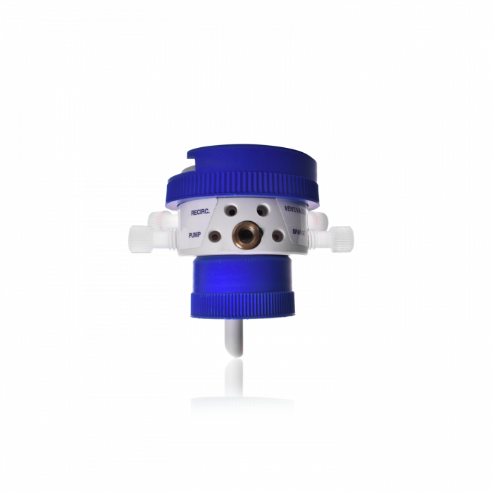 KIMBLE® ULTRA-WARE® Five Valve Recirculation and Filtration Caps, Non THF Resistant