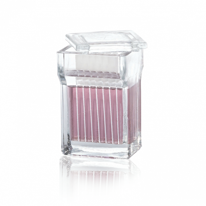 WHEATON® 8-16 Slide Staining Jar With Cover