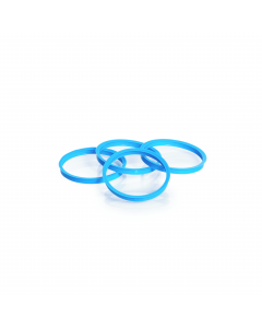 DURAN® YOUTILITY® Screw Cap Cyan PP, Pouring ring
