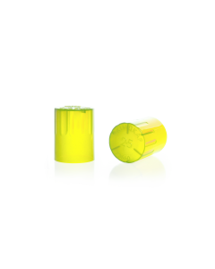 KIMBLE® KIM-KAP™ Polypropylene Closure, Yellow
