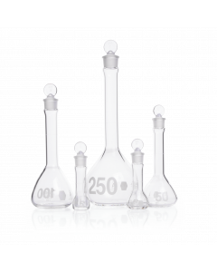 KIMBLE® KIMAX® Heavy Duty Wide-Mouth Volumetric Flask Glass Stopper