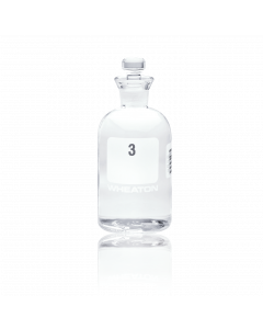 WHEATON® BOD Bottle 300 mL, With Robotic Stopper