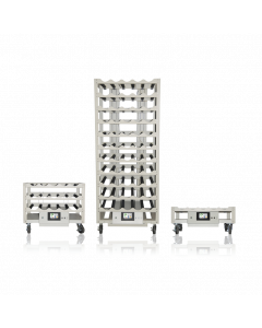 WHEATON® R2P™ 2.0 Rack Apparatus, Bottom Drive Production Spacing