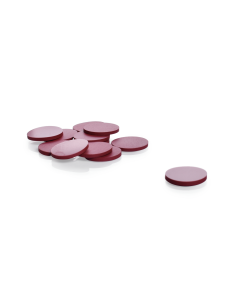 KIMBLE® PTFE-Faced Red Rubber Septa