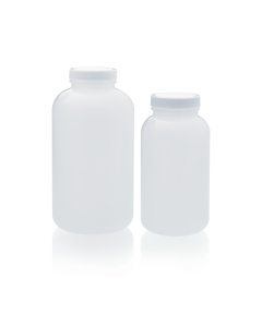WHEATON® HDPE Wide Mouth Round Packer Bottle
