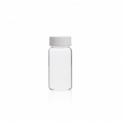 KIMBLE® 20 mL Glass Scintillation Vial With Attached Cap, 22-400 GPI Finish