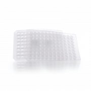 WHEATON® MicroLiter Plate Sampling System™ μLmats™ 96-Well Silicone Coated PTFE, Pre-Cut, Natural, Square Well, Case of 1