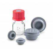 DURAN® GL 25 and GL 45 Bromobutyl Rubber Stoppers for GL 25 or GL 45 Laboratory bottles