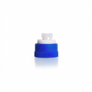 DURAN® GL 45 HPLC Multiport Connector Cap with 3-ports PTFE white
