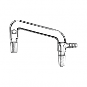 KIMBLE® KONTES® Connecting Distillation Adapter