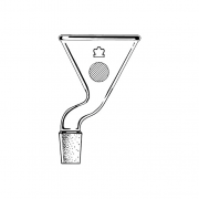 KIMBLE® Addition Funnel With Joint, 100 mm