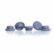 KIMBLE® Gray Chlorobutyl Straight-Sided Stoppers