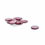 KIMBLE® PTFE-Faced Red Rubber Septa, 13-425, Case of 100