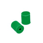 KIMBLE® Silicone Stoppers, Full Hole, Size 6