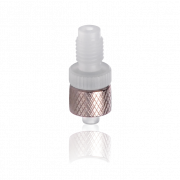 "KIMBLE® Adapter, ETFE FLEX-COLUMN® Fitting, Female Luer to Female 1/4""-28 Thread"