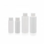WHEATON® Cylinder Round Bottle, Natural, 500 mL, PE Lined, Case of 24