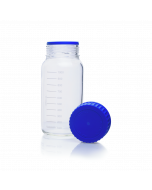 KIMBLE® GLS 80® KimCote® Laboratory Bottle GLS80 Plastic Coated
