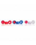 WHEATON® MicroLiter Plate Sampling System™ Snap Cap With Septa or Stopper PTFE / Silicone Septa