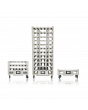WHEATON® R2P™ 2.0 Roller Rack Apparatus, Bottom Drive Production Spacing, 86 Bottle Positions