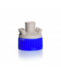 DURAN® GLS 80® screw cap with four-ports (2x GL 14 thread 2x GL 18 thread) and central ST 29/32 ground joint