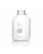 DURAN® Laboratory Bottle Wide Mouth GLS 80®, Protect coated Clear, Supplied as bottle only, no cap, 3500 mL