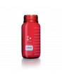 DURAN® Laboratory Bottle Wide Mouth GLS 80®, Protect coated Amber, Supplied as bottle only, no cap, 1000 mL