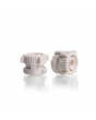 Keck™ Suction Connector, AS M8, screw cap