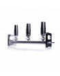 KIMBLE® SPE Manifold, 3-Place, Stainless Steel