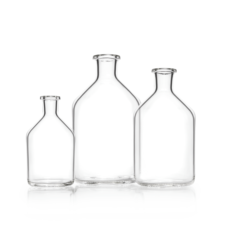DURAN® Microbiology Bottle Unground Narrow Neck, 100 mL