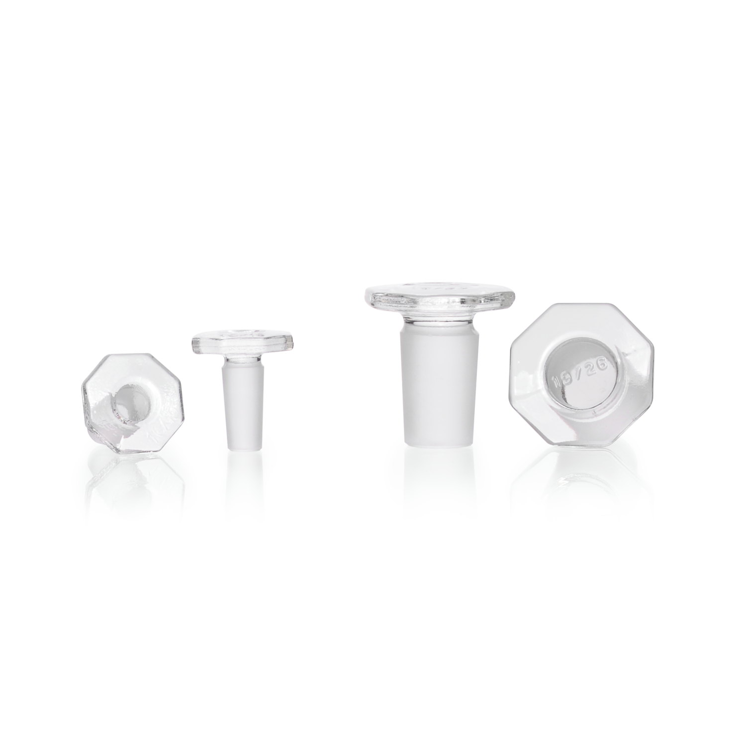 DURAN® Glass Stopper, clear, solid, ST 24/29