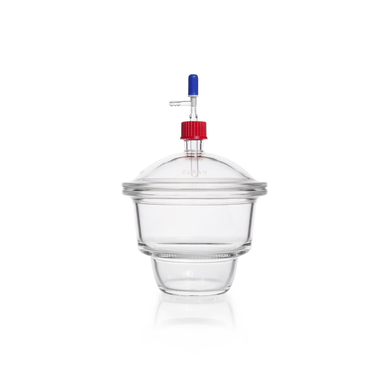 DURAN® Vacuum Dessicator Set, type MOBILEX (GL 32), without porcelain plate, DN 200