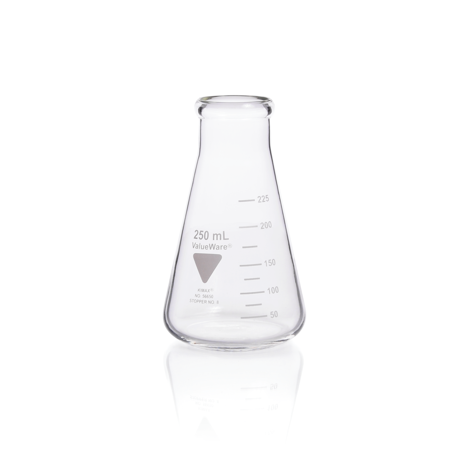 KIMBLE® ValueWare® Erlenmeyer Flask, Wide Mouth, 125 mL
